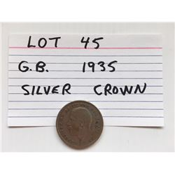 COIN, GB, 1935, CROWN
