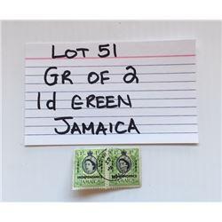 STAMPS, JAMAICA, 1d