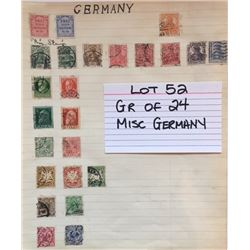 STAMPS, GERMANY