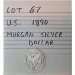 COIN, US, 1890, DOLLAR
