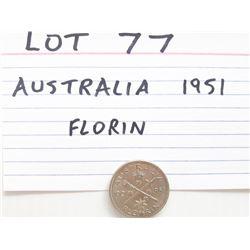 COIN, AUSTRALIA, FLORIN