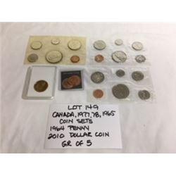 COINS, CANADA, SET
