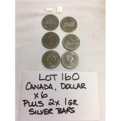 COINS, SILVER, CANADA