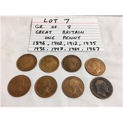 COINS, GB, 1896-1967, PENNY