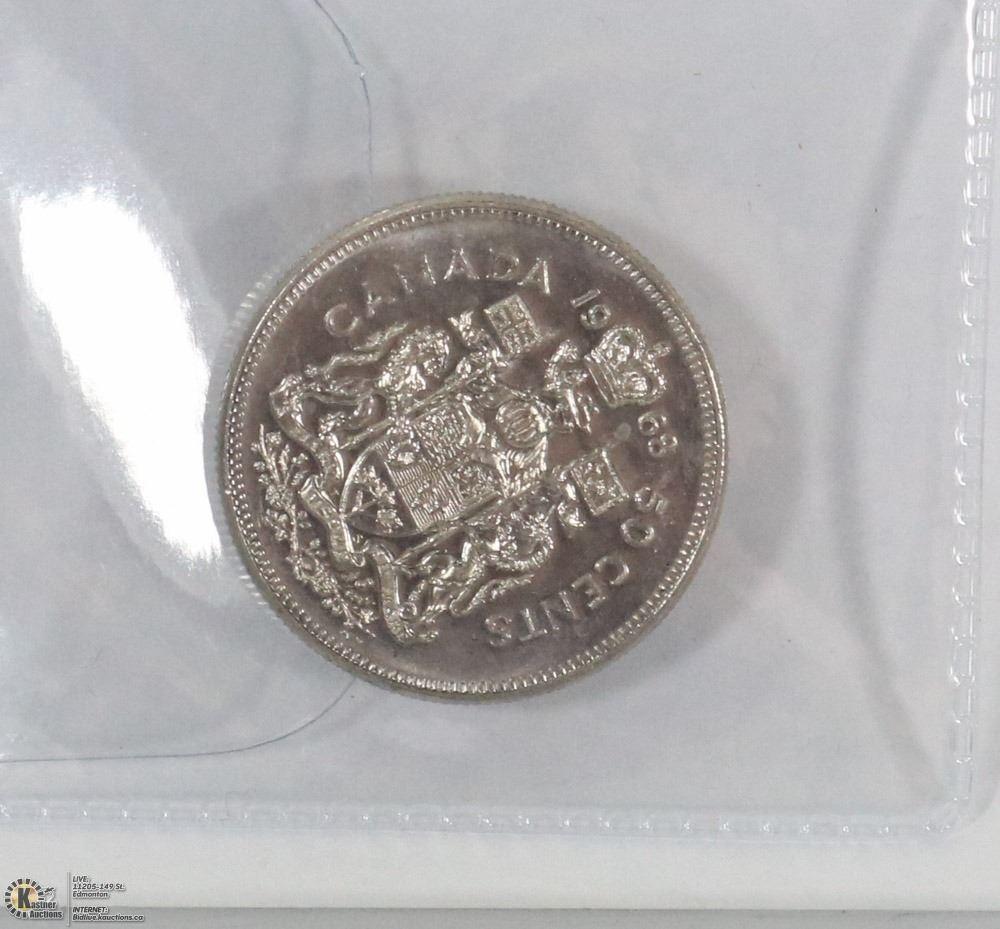 1968 CANADIAN 50 CENT PIECE