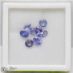 APPROX. 2 TCW ASSORTED SIZES & SHAPES TANZANITE