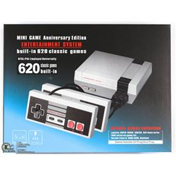 NEW RETRO GAMING SYSTEM W/620 BUILT IN CLASSIC