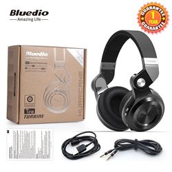 PAIR OF NEW BLUEDIO BLUETOOTH OVER EAR HEADPHONES
