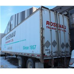 1993 ENCLOSED CARGO TRAILER 48'  WITH CONTENTS