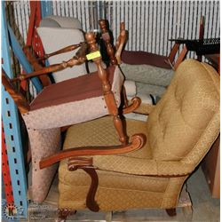 PALLET OF ESTATE VINTAGE CHAIRS