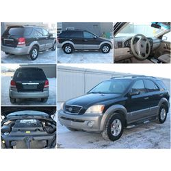 FEATURE #4 2004 KIA SORENTO W/ONLY 100,000KMS