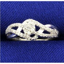 1/2 Ct Tw Micro Set Diamond Ring