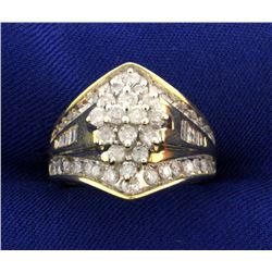 1 1/2 ct TW Designer Diamond Ring