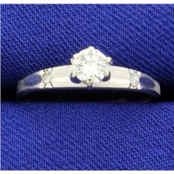 .3ct Total Weight Diamond Ring
