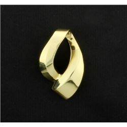14K Yellow Gold Slide