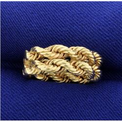 Double Rope Style Ring