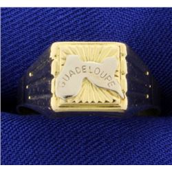 """Guadeloupe"" 18K Ring"
