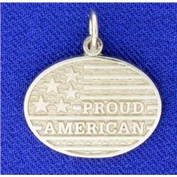 """Proud American"" Pendant"