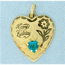 Happy Birthday Pendant/Charm