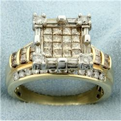 2.5ct TW Chocolate Diamond and White Diamond Ring