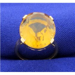 16ct Citrine Ring