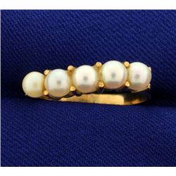Five Pearl Ring