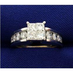 2ct TW Diamond Engagement Ring