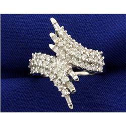 1ct TW Designer Diamond Ring