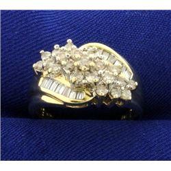 3/4 ct TW Diamond Cocktail Ring