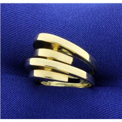 Italian Made Modern Ring