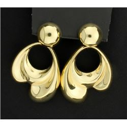 14K Large Dangle Earrings