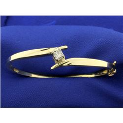 1/4 ct Diamond Bangle Bracelet