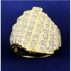 1ct TW Diamond Designer Ring in 14k Gold