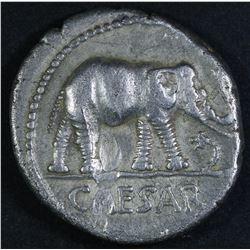 Julius Caesar, 49 BC. AR Denarius