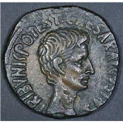 Augustus. 27 BC-AD 14. AE As