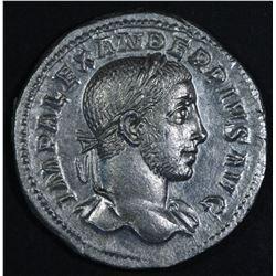 Severus Alexander. 222-235 AD. AR Denarius