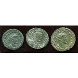 Allectus (293-296 AD) Lot. (3 Pcs)