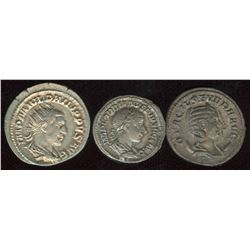 Ancient Coin Lot (3 Pcs.)
