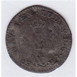 BR 509. Billon Sol of 12 Deniers. 1740 A. (Paris).