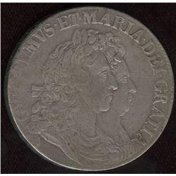 William III & Mary. 1688-1694