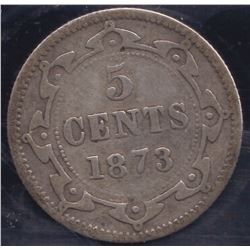 1873 Newfoundland Five Cents