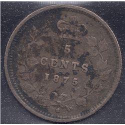 1875H Five Cents
