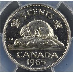 1965 Five Cents