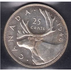 1948 Twenty-Five Cents