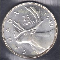 1949 Twenty-Five Cents