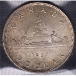 1937 Silver Dollar