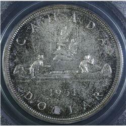 1951 Silver Dollar- Specimen