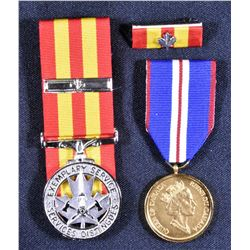 Fire Services - New Brunswick Medal