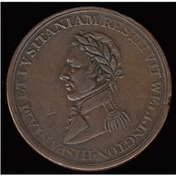 BR 986. Wellington Lower Canada ½ Penny Token (c.1813)