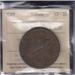 BR 520. Coffin's Magdalen Island penny, 1815.